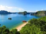 Zátoka Halong Bay a ostrov Cat Ba