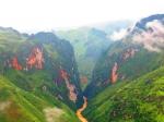 Průsmyk Ma Phi Leng a řeka Nho Que